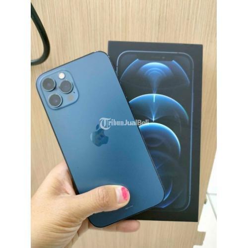 HP iPhone 12 Pro 128GB Blue Bekas Fungsi Normal Garansi Bisa TT - Solo