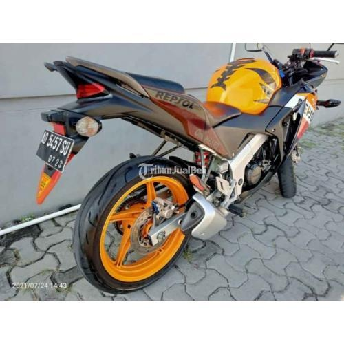 Motor Honda CBR Old 150cc 2013 Bekas Surat Lengkap Mesin Normal - Solo