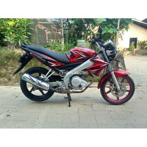 Motor Yamaha Vixion 2010 Merah Bekas Surat Lengkap Harga Nego - Samarinda