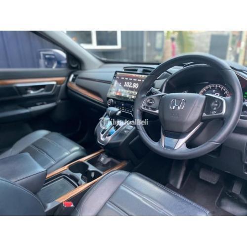 Mobil Honda CR-V Prestige Turbo 2018 Putih Bekas Low KM Pajak Baru - Denpasar