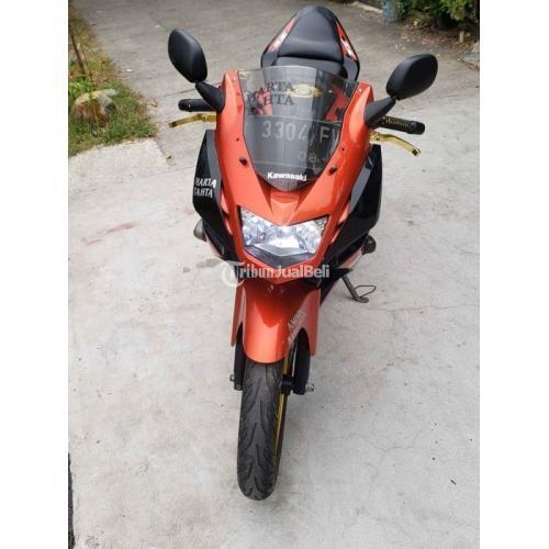 Motor Kawasaki Ninja 2014 Bekas Tangan 1 Pajak Hidup Surat Lengkap - Depok