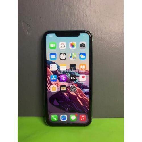 HP Apple iPhone 11 64GB Bekas Ex Inter Fullset Mulus Nominus - Jogja