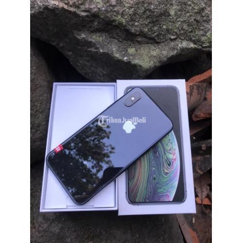 HP Apple iPhone XS Max 64GB Bekas Inter X/A Fullset Mulus Nominus - Jogja