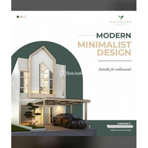 """Dijual Rumah 2 lantai harga 1 lantai Hunian Berkualitastype 68/84 """"design modern minimalist"""" Promo Cash - Makassar"""