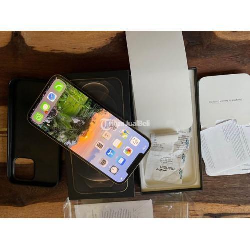 HP Apple iPhone 12 Pro Max 256 Bekas iBox Like New Fullset Ori - Jogja