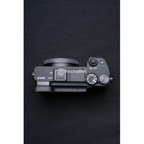 Kamera Mirrorless Sony A6300 BO Bekas Like New Fullset Normal - Solo