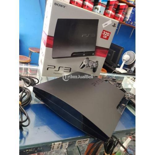 Konsol Game Sony PS3 Slim C.F.W 320GB Seri 25 Fullset Bekas Aman - Badung