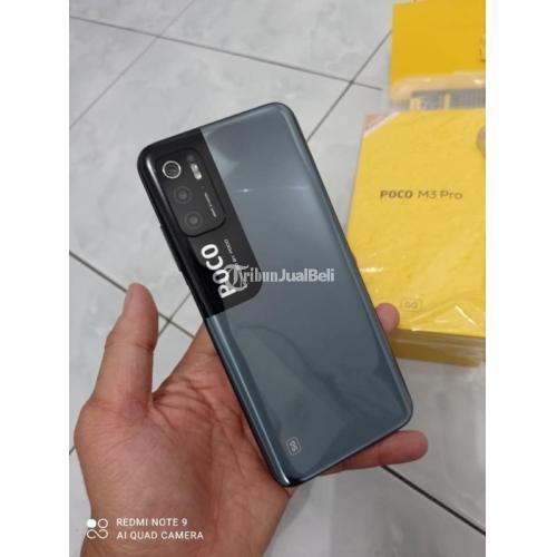 HP Poco M3 Pro 5G 4/64GB Original Second Like New Buka Dus Normal - Denpasar