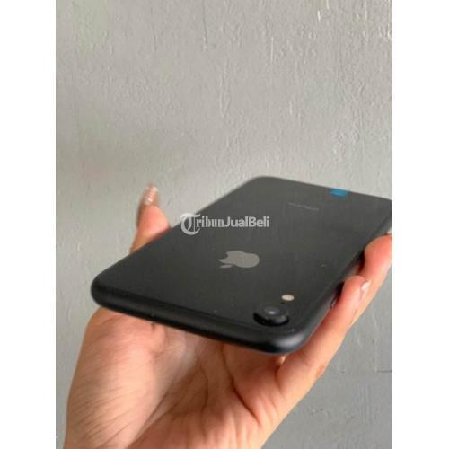 HP Apple iPhone XR 128GB Black Bekas Like New Fullset All Operator - Denpasar