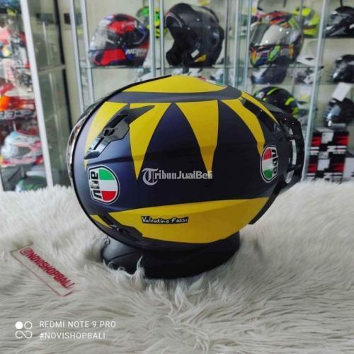 Helm Full Face 2nd MRC VR46 Soleluna 2019 Size L Flat Visor Dd Ring - Denpasar