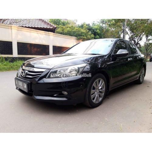 Mobil Honda Accord 2.4 Vtil Matik 2012 Bekas KM Rendah Pajak Panjang - Serang