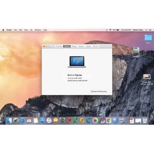 Laptop MacBook Pro (13 inch, Mid 2010) Bekas RAM 4GB Bekas Mulus Siap Pakai - Bekasi