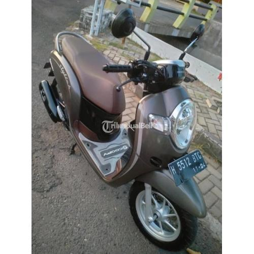 Motor Honda New Scoopy 2019 Bekas Warna Favotite Mesin Halus - Semarang