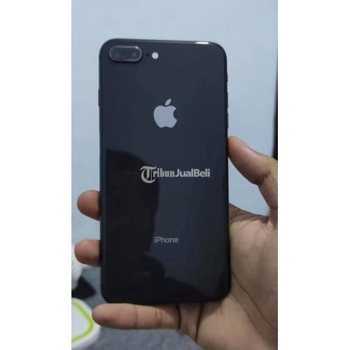 HP iPhone 8 Plus 64GB Black Baterai 77% Bekas Mulus No Minus - Malang