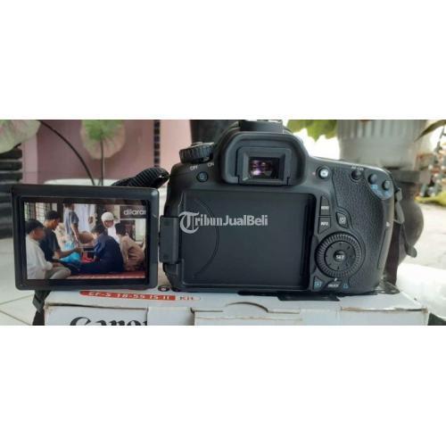 Kamera Canon EOS 60D Bekas Lensa Fix 50mm Bebas Jamur Garansi - Medan
