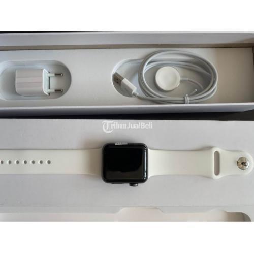 Apple Watch Series 2 Second Original Fullset Mulus 38mm Like New - Pasuruan