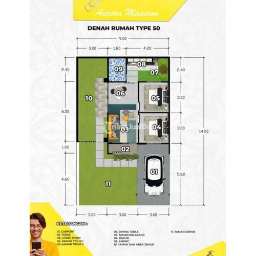 Dijual Rumah Mewah Harga Murah Type 50 Lokasi Tengah Kota - Banda Aceh