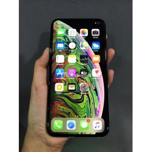 HP iPhone XS Max 64gb Mulus Bekas Inter X/A Fulset Nominus - Jogja