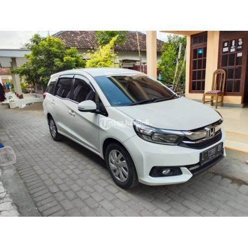 Mobil Honda Mobilio E 2027 Manual Bekas Like New Tangan1 Siap Pakai - Gresik