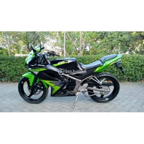 Motor Kawasaki Ninja 150 2014 Bekas Mesin Halus Kelistrikan Normal - Sidoarjo