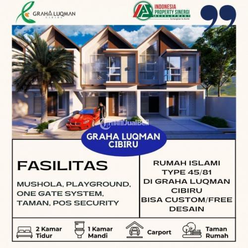 Dijual Rumah 2 Lantai Promo Nuansa Islami Cibiru Hilir view Gunung Mangkayang - Bandung