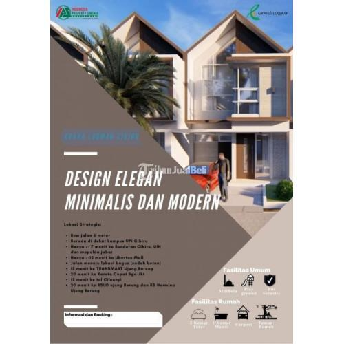 Dijual Rumah Tipe 45 Luas 80 m2 View Pegunungan Graha Luqman Cibiru - Bandung
