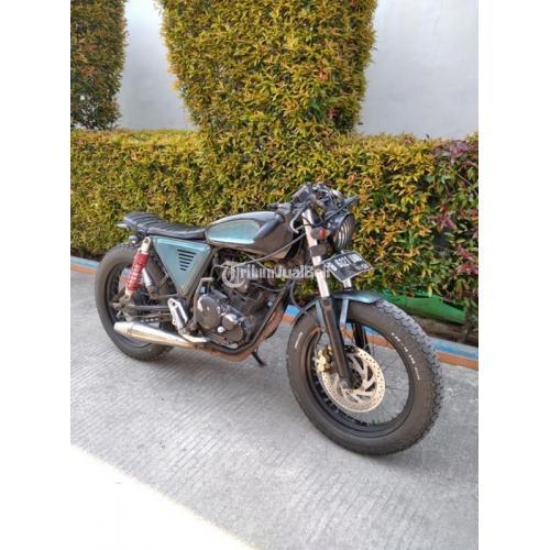 Motor Caferacer Basic Scorpio 2010 Bekas Surat Lengkap Harga Nego - Depok