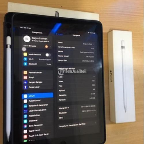 Ipad 6 Wifi Only 32GB + Apple Pencil Gen 1 Bekas Fullset Normal Harga Nego - Jogja