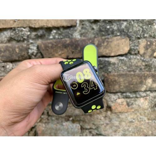 Apple Watch Series 2 uk 42mm GPS NIKE SERIES Original Resmi Second - Jogja