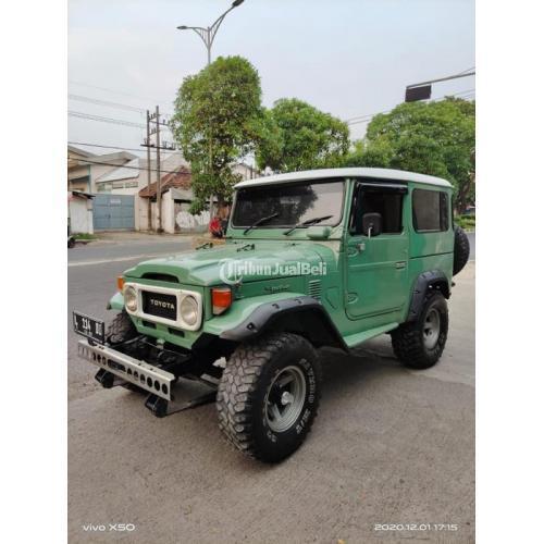 Mobil Toyota Jeep Hartop 4x4 1978 Bekas Sehat Pajak Baru Surat Lengkap - Surabaya