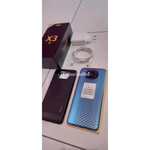 HP POCO X3 NFC 6/64GB Bekas Mulus Segel Fullset Nominus Like New - Surabaya