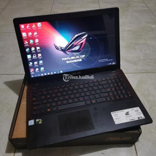 Laptop Asus Gaming X550Z Core i7 RAM 8GB HDD 1TB Bekas Normal Harga Nego - Jakarta