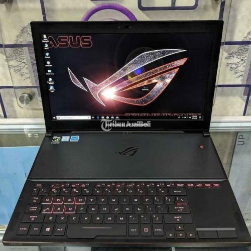 Laptop ASUS ROG Zephyrus GX501VI G-SYNC Bekas Like New - Jakarta
