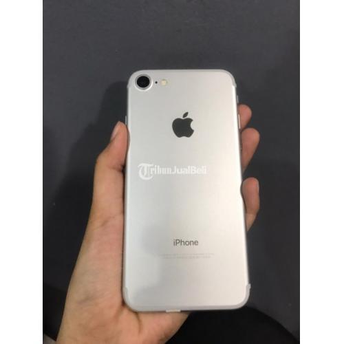 HP iPhone 7 128GB Bekas Original Mulus Fungsi Normal Fullset - Jogja