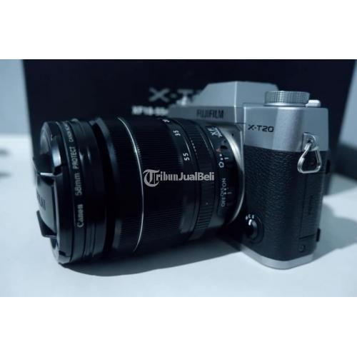 Kamera Fujifilm XT20 Lensa 18-55mm F2.8 Fullset Bekas Mulus - Bogor