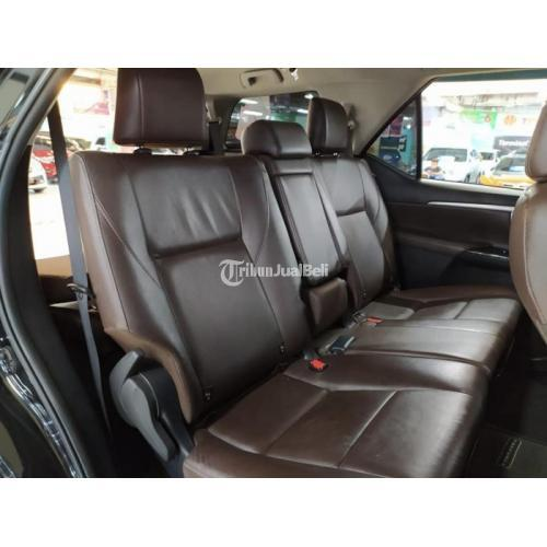 Mobil Toyota Fortuner VTR Diesel AT 2016 Bekas Mesin Normal Pajak Hidup - Surabaya