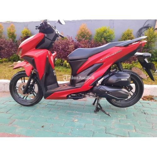 Motor Honda Vario 150 2019 Merah Bekas Surat Lengkap Mesin Halus - Sidoarjo