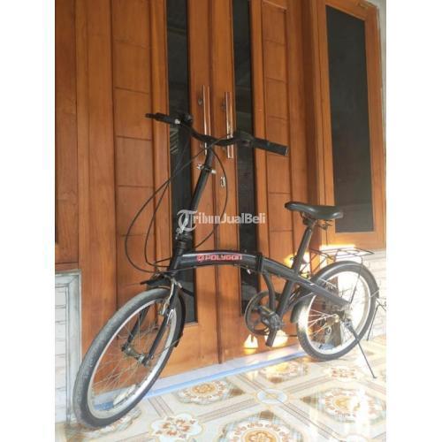 Sepeda Lipat Polygon Basic Laux Uk 20 Speed 7 Bekas Harga Murah - Yogyakarta