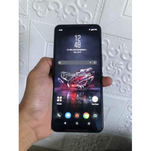 HP Asus ROG Phone 2 Fullset Bekas Kondisi Normal Mulus Bisa TT - Surabaya