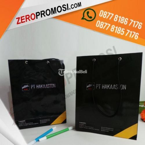 Paper Bag Custom Design Murah Ukuran P20XT26XL8 - Tangerang