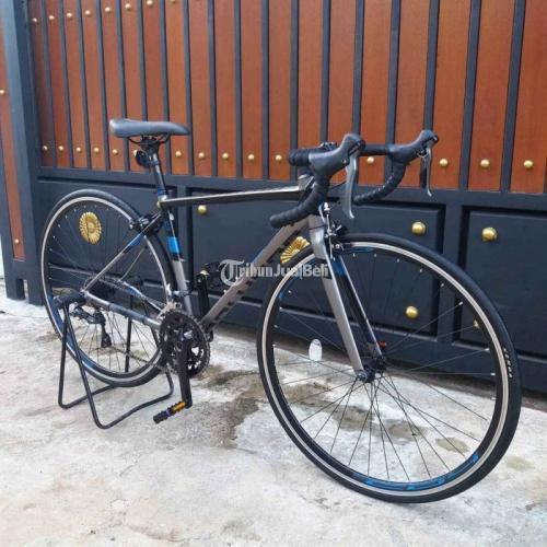 Sepeda Roadbike Polygon Strattos S2 2021 Size S Bekas Mulus Nominus - Bogor