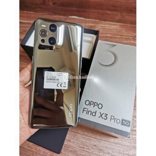 HP Oppo Find X3 Pro Black 12/256GB Bekas Like New Garansi Panjang - Jakarta
