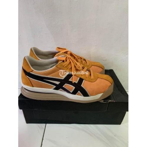 Sepatu Onitsuka Tiger Corsair Yellow Size 40.5 Bekas Like New Lengkap - Jakarta