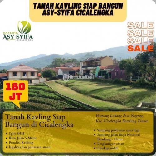 Dijual Tanah Segera Miliki Kavling Strategis Dipinggir Jalan - Bandung Barat