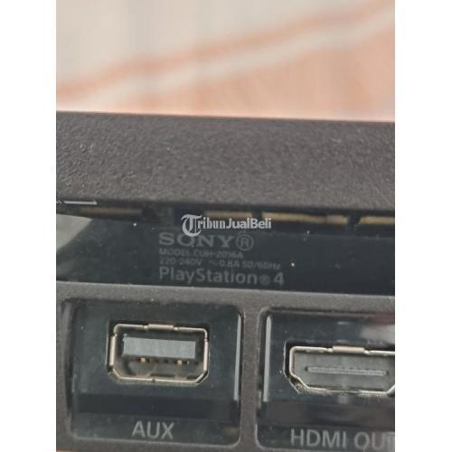 Konsol Game Son PS4 Slim 500GB HEN (segel utuh) Second Mulus - Surabaya