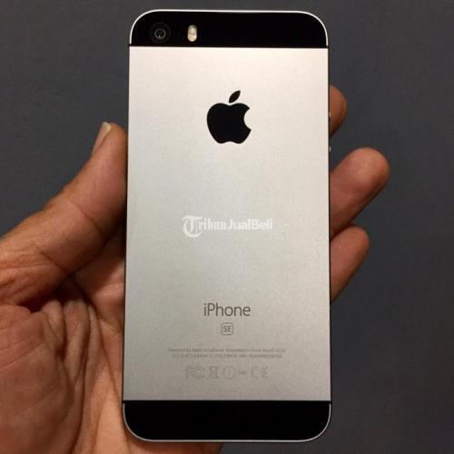 hp iPhone 5 SE 32GB Bekas Inter Mulus All Provider Siap Pakai - Jogja