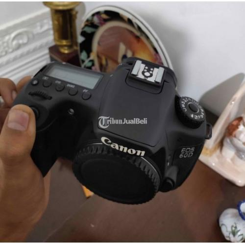 Kamera Canon 60D Body Only Fullset Second Bebas Jamur Normal - Bogor