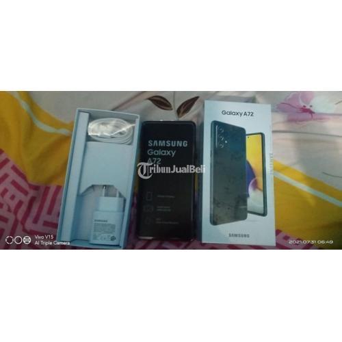 HP Samsung Galaxy A72 Ram 8GB/128GB Fullset Mulus No Minus - Sidoarjo