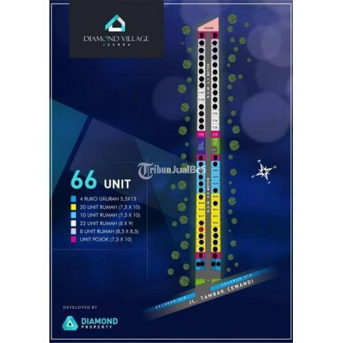 Dijual Rumah Baru Minimalis Tipe 42/75 Lokasi Strategis One Gate System - Sidoarjo