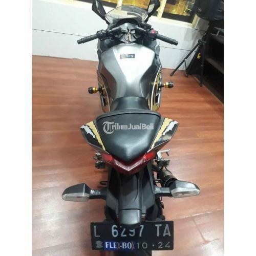Motor Kawasaki Ninja 250 Fi 2014 Bekas Surat Lengkap Body Orisinil - Sidoarjo